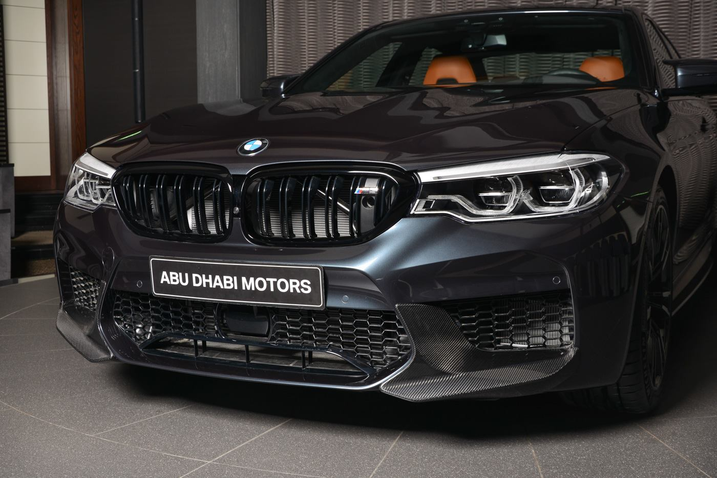 Singapore Grey Bmw M5 Loaded With M Performance Parts