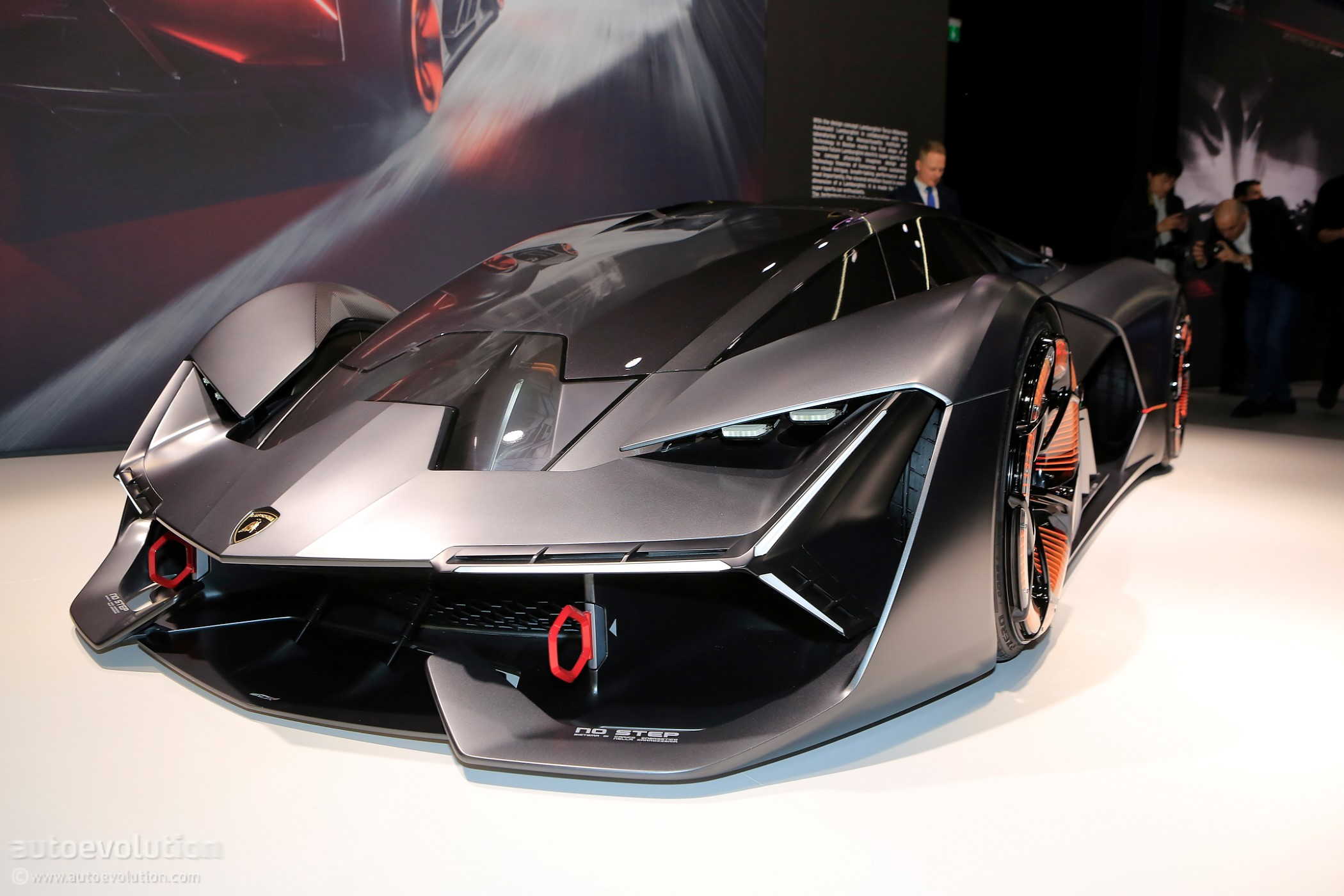 Lamborghini Lb48h Hybrid Supercar Showcased At A Private Event