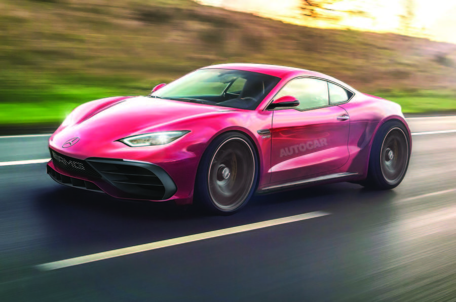 Mercedes Amg Plotting Two Seat Coupé And Roadster Models To Rival Porsche Cayman Boxster