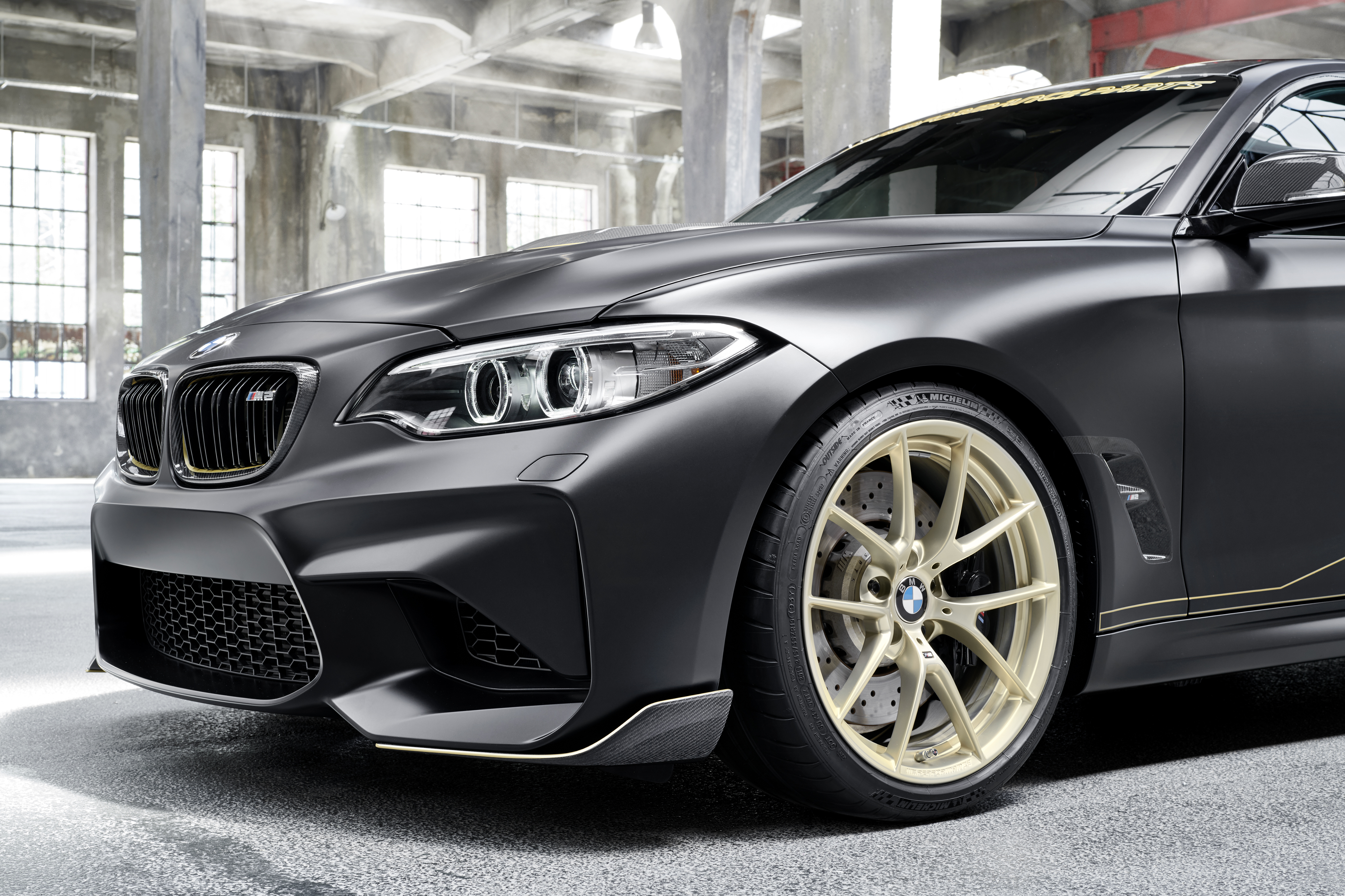 bmw m2 m performance parts concept focuses on weight saving. Black Bedroom Furniture Sets. Home Design Ideas