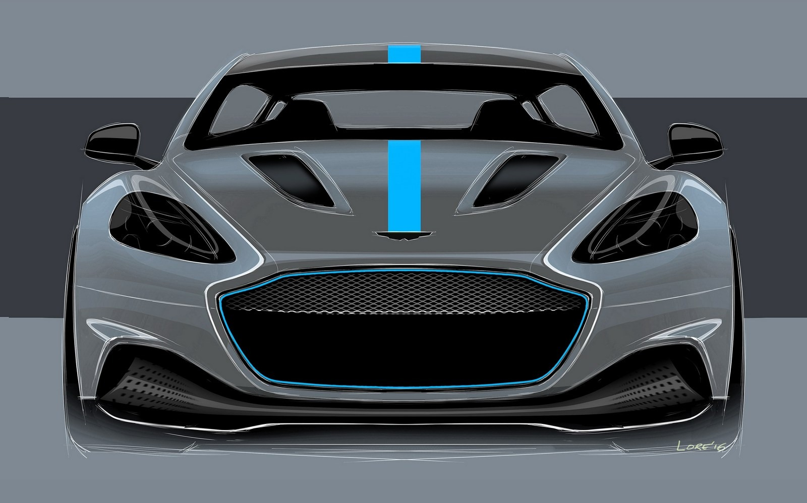 Aston Martin S Rapide To Use Fast Charging 800 Volt Battery Technology