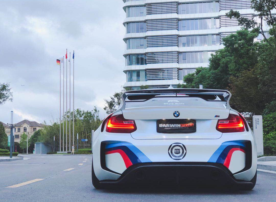 BMW Vision Gran Turismo Brought To Life With This Wide Body M2