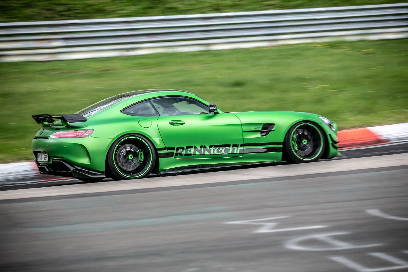 mercedes amg gt r by renntech is the fastest mercedes to. Black Bedroom Furniture Sets. Home Design Ideas