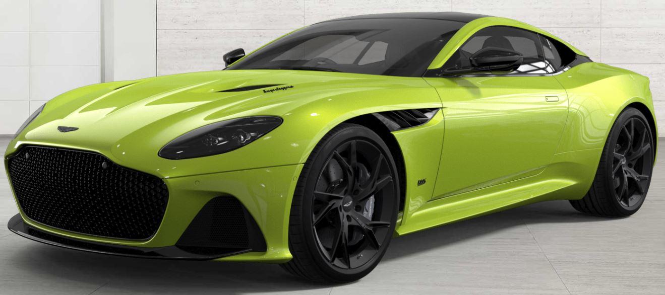 Aston Martin Dbs Superleggera Pricing For South Africa