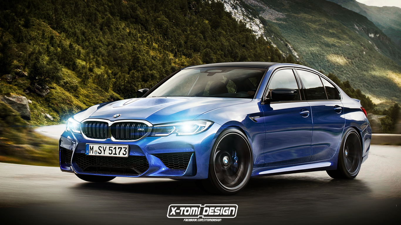 2020 Bmw M3 G80 Rendered What We Know So Far