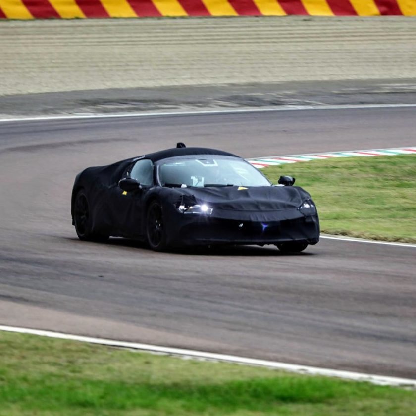 Ferrari Supercar: Mid-Engine Hybrid Ferrari Spotted With Production Bodywork