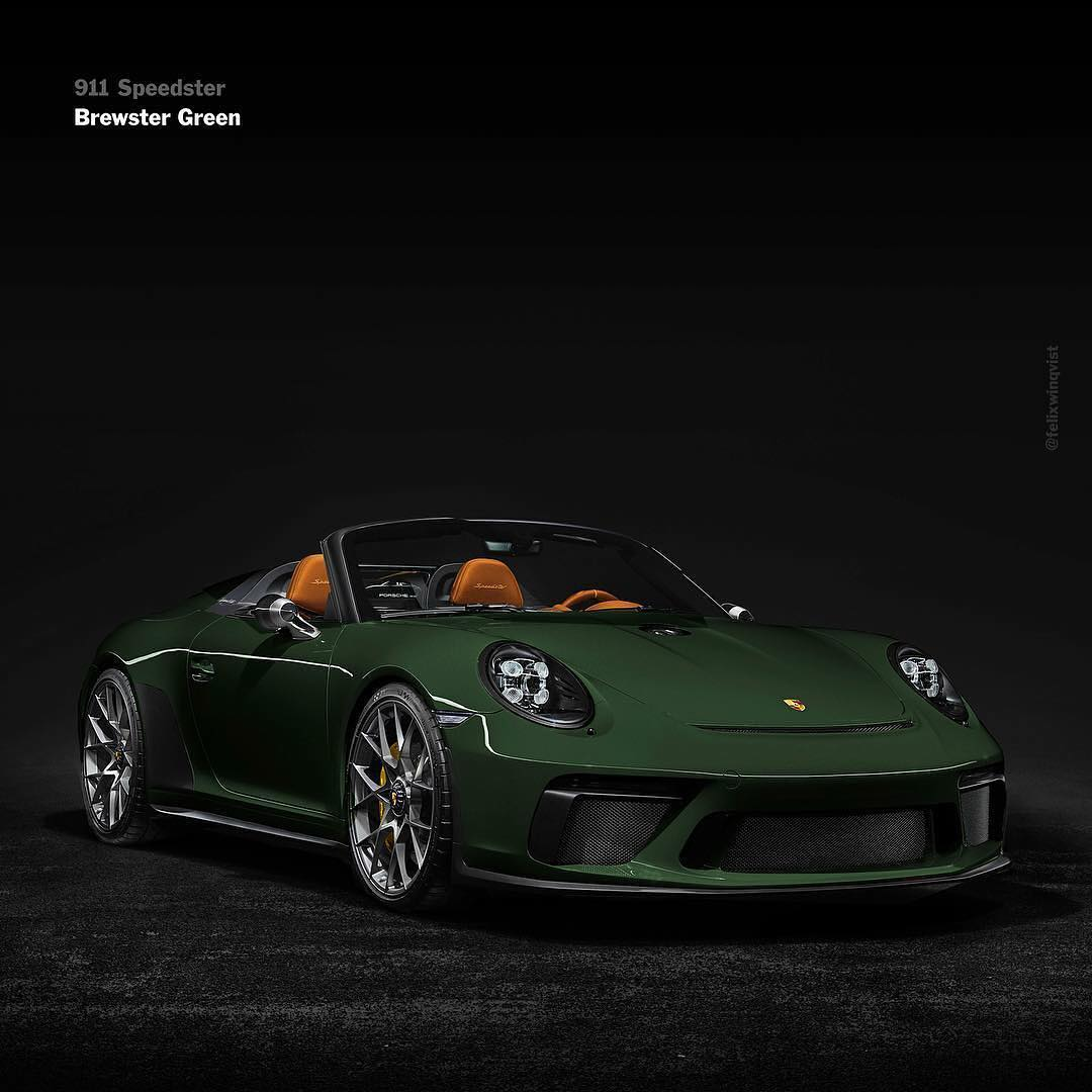 The Porsche 911 Speedster Looks Sensational In These Liveries
