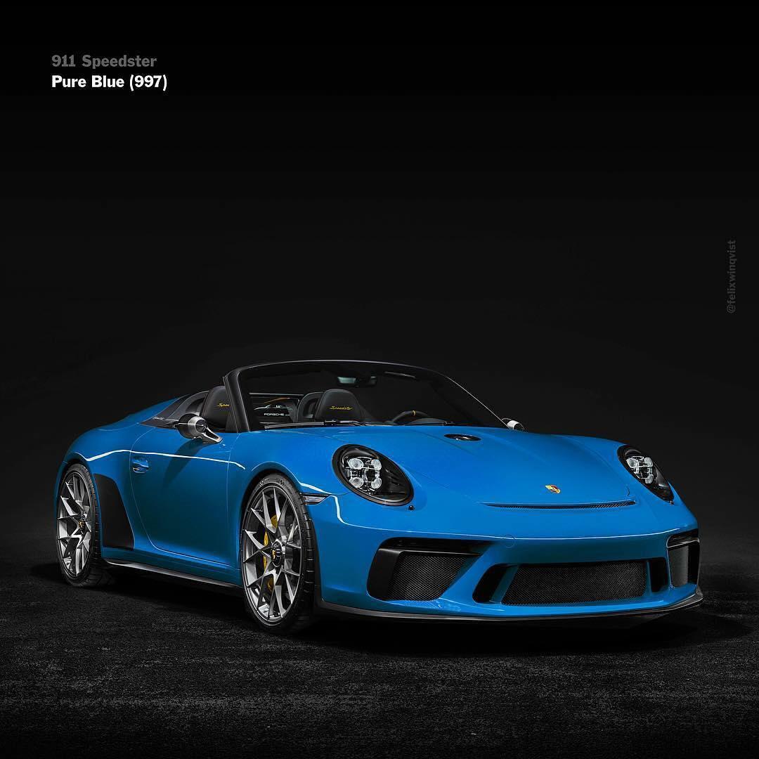 Porsche Panamera 4S >> The Porsche 911 Speedster Looks Sensational In These Liveries