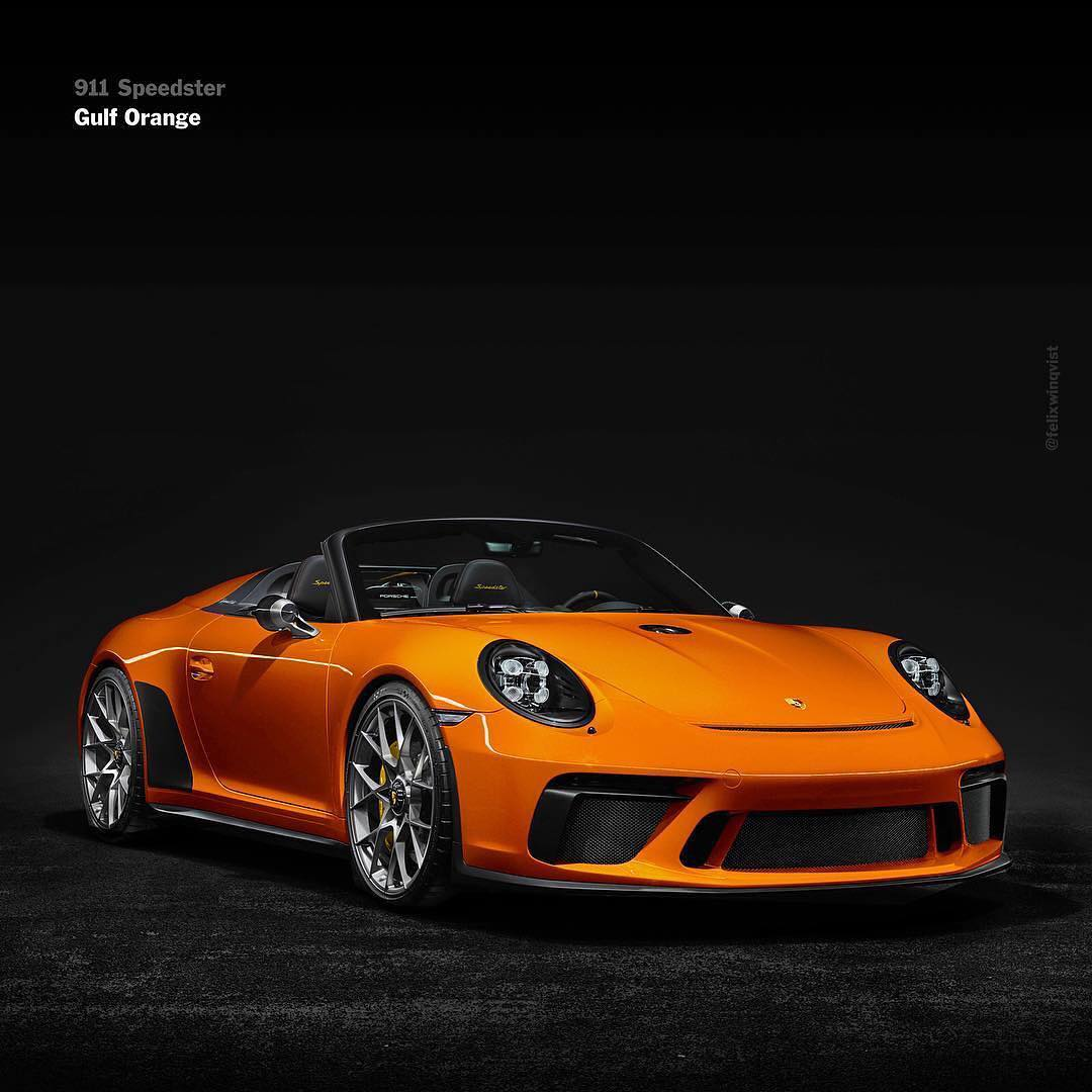 Porsche 911 Car: The Porsche 911 Speedster Looks Sensational In These Liveries