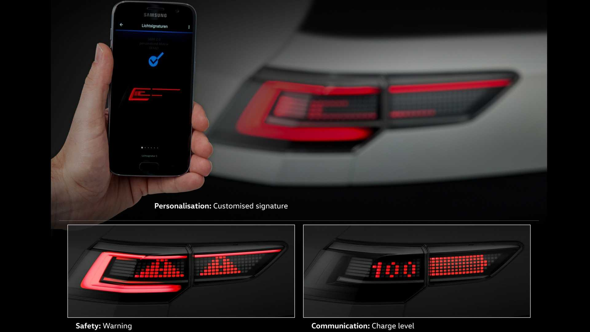 is this the new volkswagen golf 8 taillight. Black Bedroom Furniture Sets. Home Design Ideas