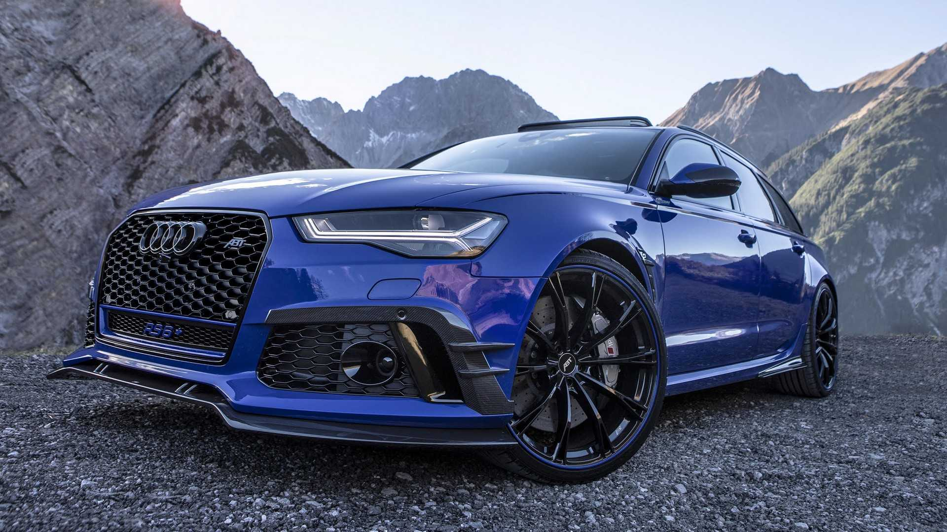 Audi Rs6 Avant Nogaro Edition By Abt Packs 725 Hp 541 Kw