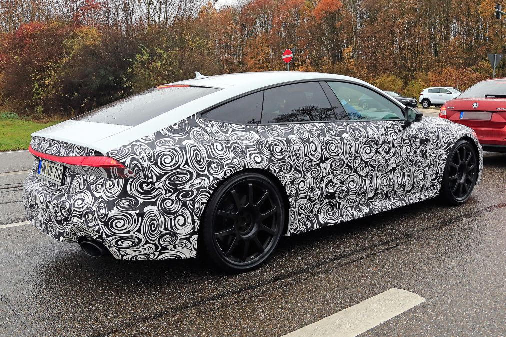 All New Audi Rs7 Will Break 600 Hp 447 Kw Mark In 2019