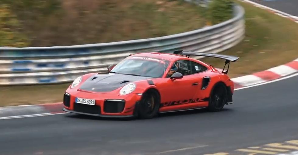 Porsche 911 Gt2 Rs Mr Spied During Nurburgring Revisit