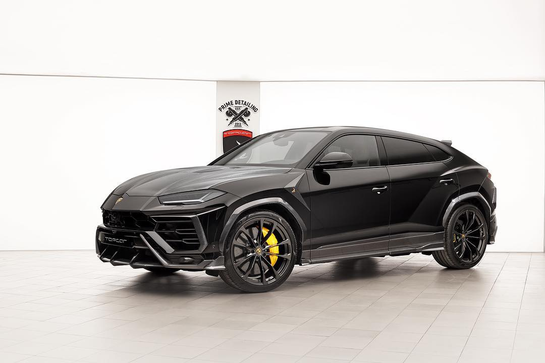 Mercedes Auto Parts >> Lamborghini Urus Loaded With Carbon From TopCar Looks Angry