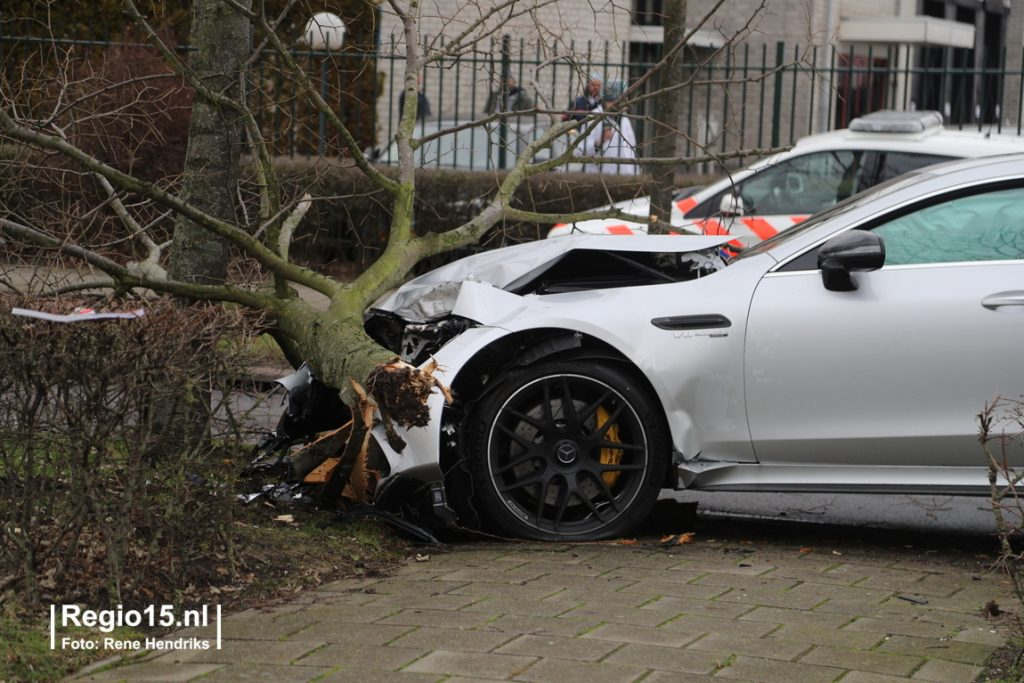 C63 Amg Black Series >> Five Day Old Mercedes-AMG GT 63 S 4-Door Coupé Crashed In ...