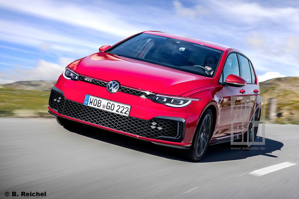 next volkswagen golf gti could pack as much as 300 hp 224 kw. Black Bedroom Furniture Sets. Home Design Ideas