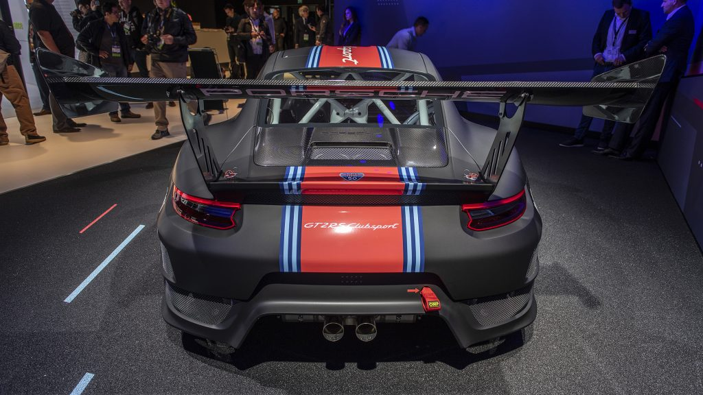 Porsche\u0027s 911 GT2 RS Clubsport Will Be Getting Its Own One