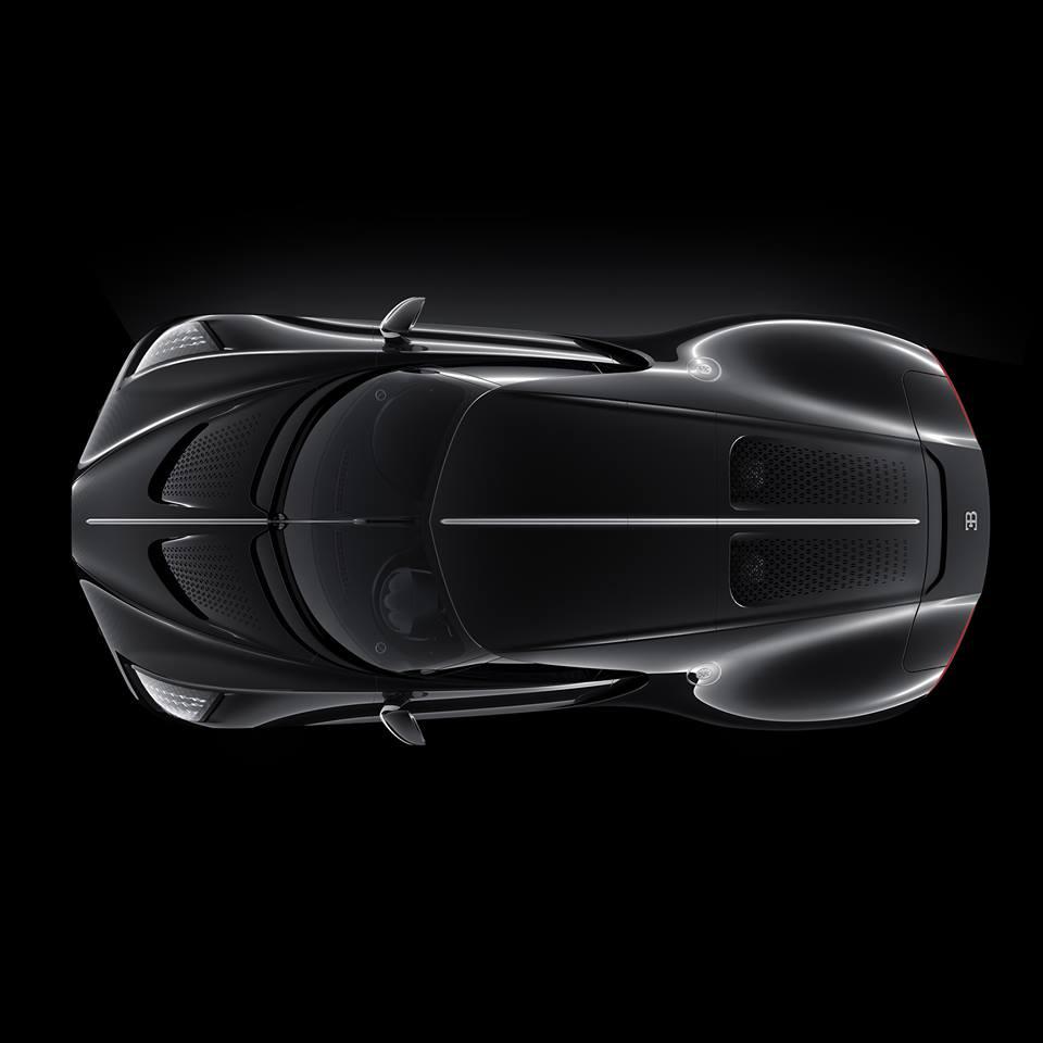 Bugatti 'La Voiture Noire' One-Off Sold For R270 Million