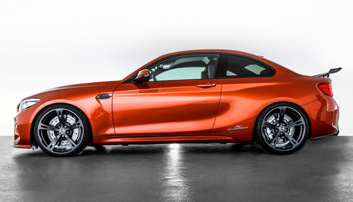 Ac Schnitzer Bmw M2 Competition Packs 500 Horses 373 Kw