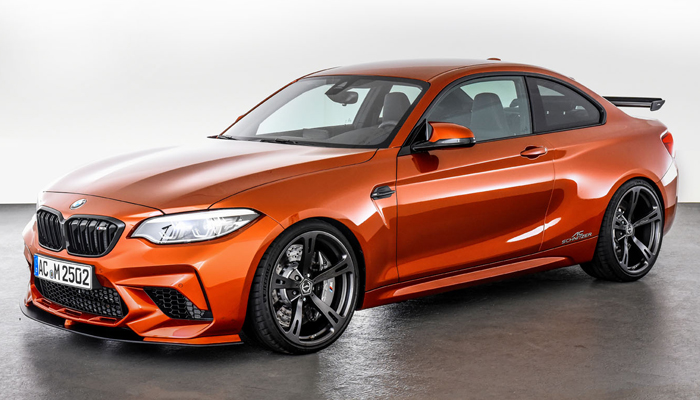 ac schnitzer bmw m2 competition packs 500 horses 373 kw. Black Bedroom Furniture Sets. Home Design Ideas