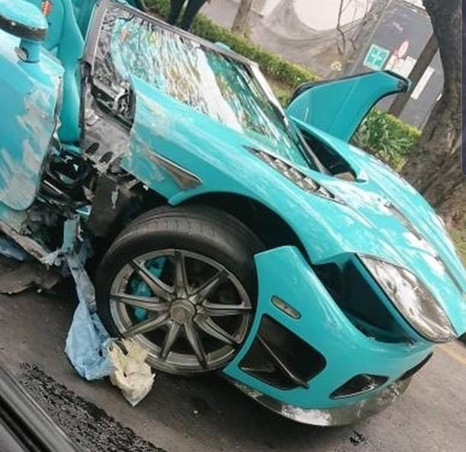 Koenigsegg Ccxr Edition: Koenigsegg CCXR 'Special One' Crashed In Mexico