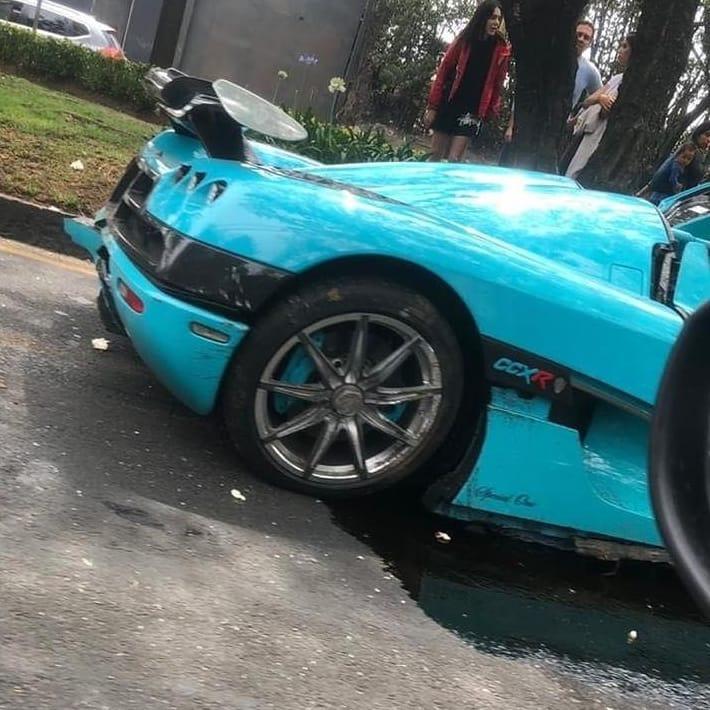 Koenigsegg Ccxr: Koenigsegg CCXR 'Special One' Crashed In Mexico