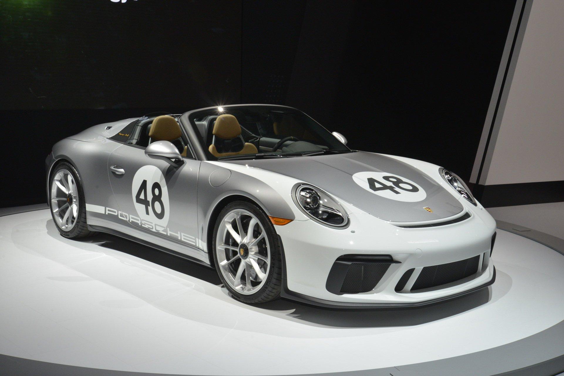 Classic BMW For Sale >> New Porsche 911 Speedster Gets Heritage Design Package