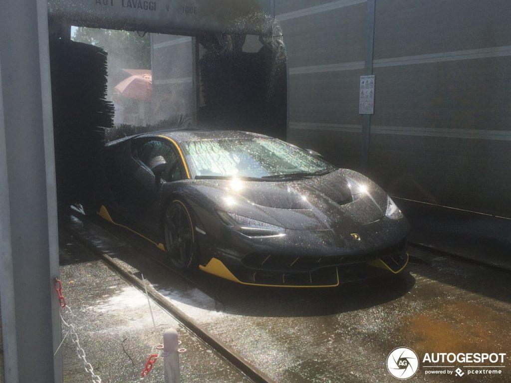 2 Million Lamborghini Centenario Goes Through Automatic Car Wash