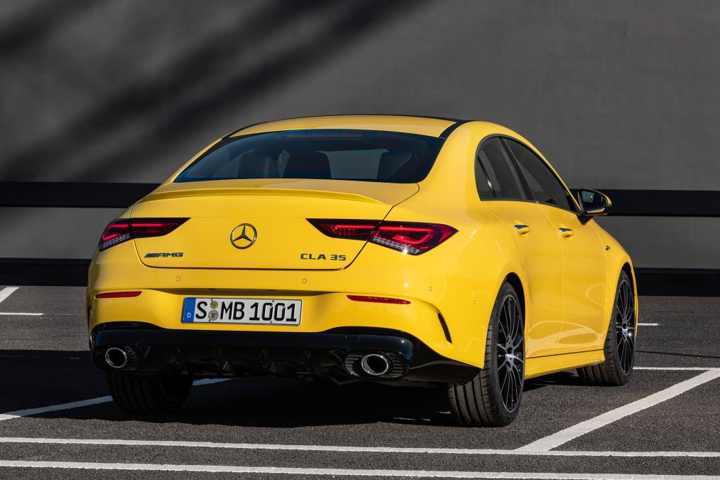 Mercedes Cla 45 Amg For Sale >> Mercedes-AMG CLA 35 4-Matic Revealed