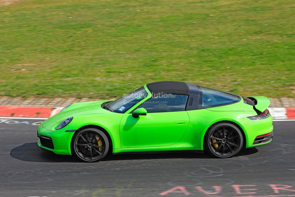 2020 Porsche 911 Targa Seen Undisguised