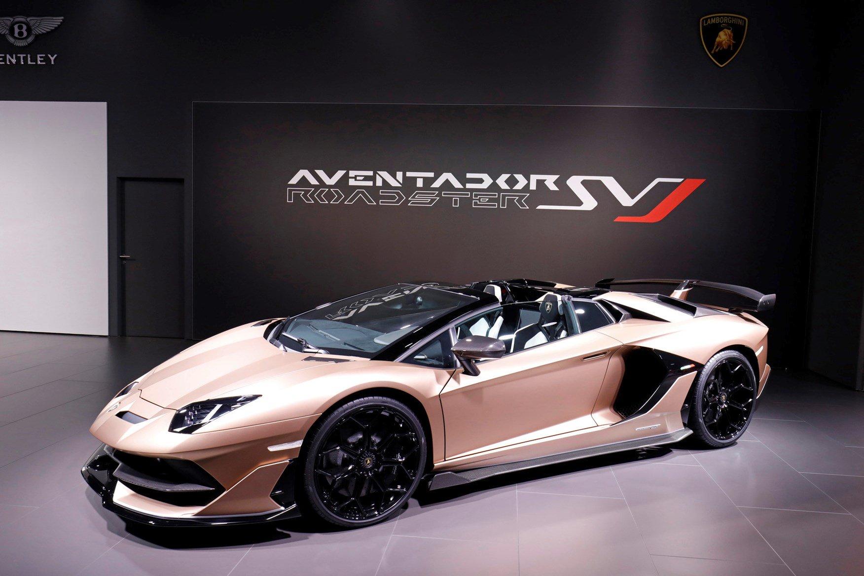 Lamborghini Aventador Svj Roadster Pricing For South Africa