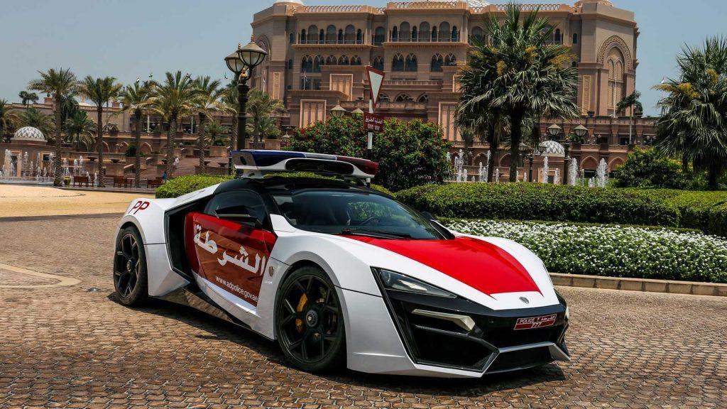 R50 Million Lykan HyperSport Abu Dhabi Police Car