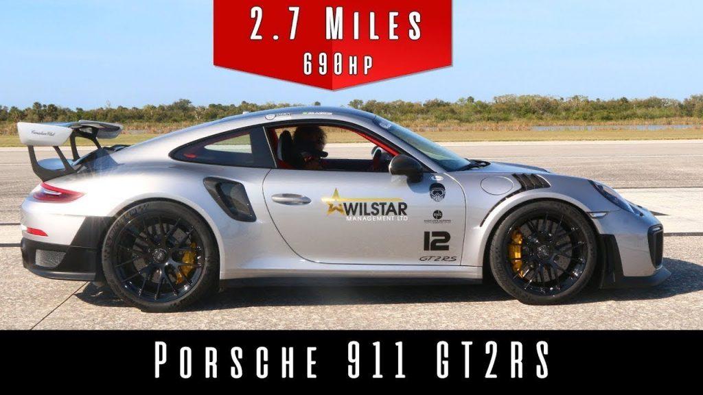 Porsche 911 Gt2 Rs Hits 352 Km H