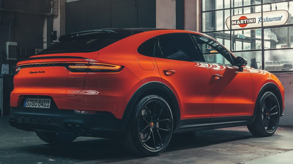 Porsche Cayenne Coupe Might Be Getting Urus V8 Power