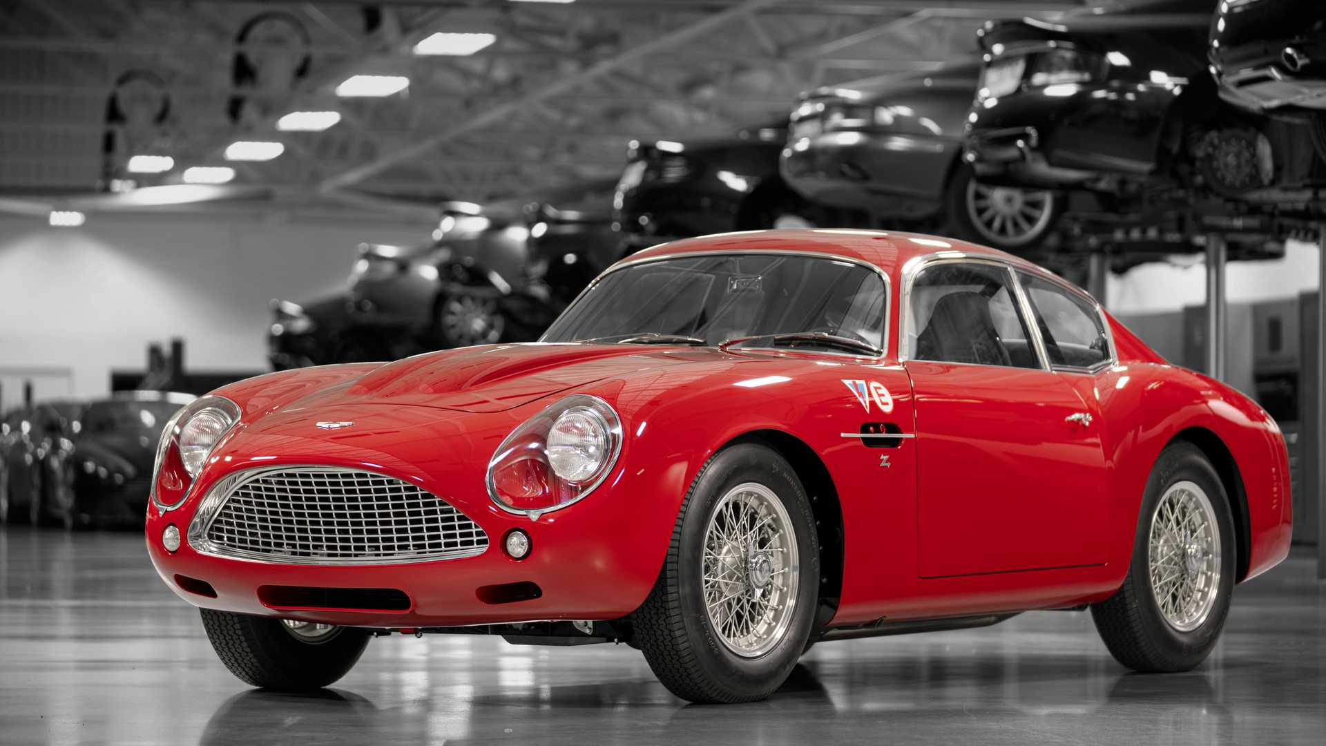 gorgeous aston martin db4 gt zagato continuation revealed