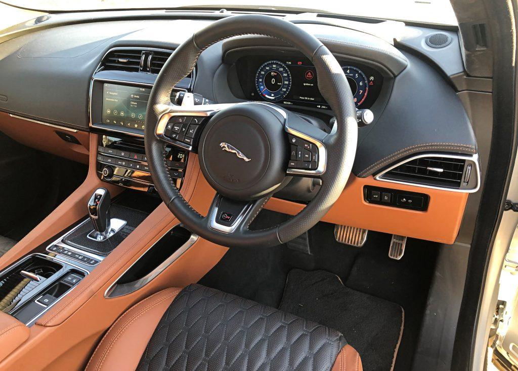 Driven Jaguar F Pace Svr