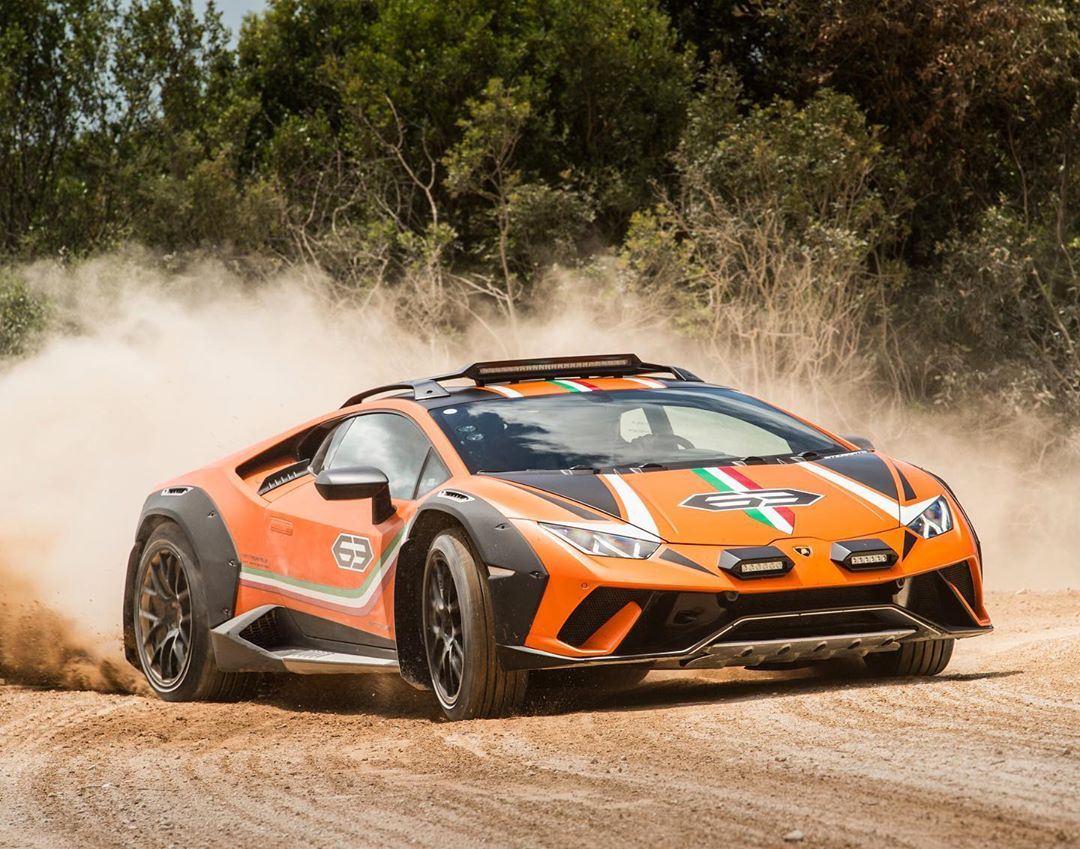 Jaguar F Type S >> Lamborghini Huracán Sterrato Is Real and Could See Limited ...