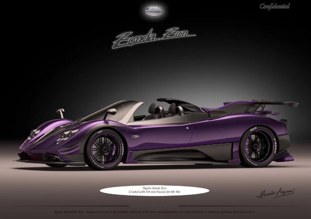 Most Expensive Mercedes >> Newest Pagani Zonda Is Called Zun and It Looks Gorgeous In ...