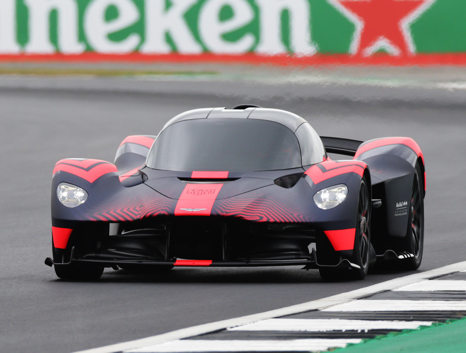 Range Rover Defender For Sale >> Aston Martin Valkyrie Makes Dynamic Debut at Silverstone