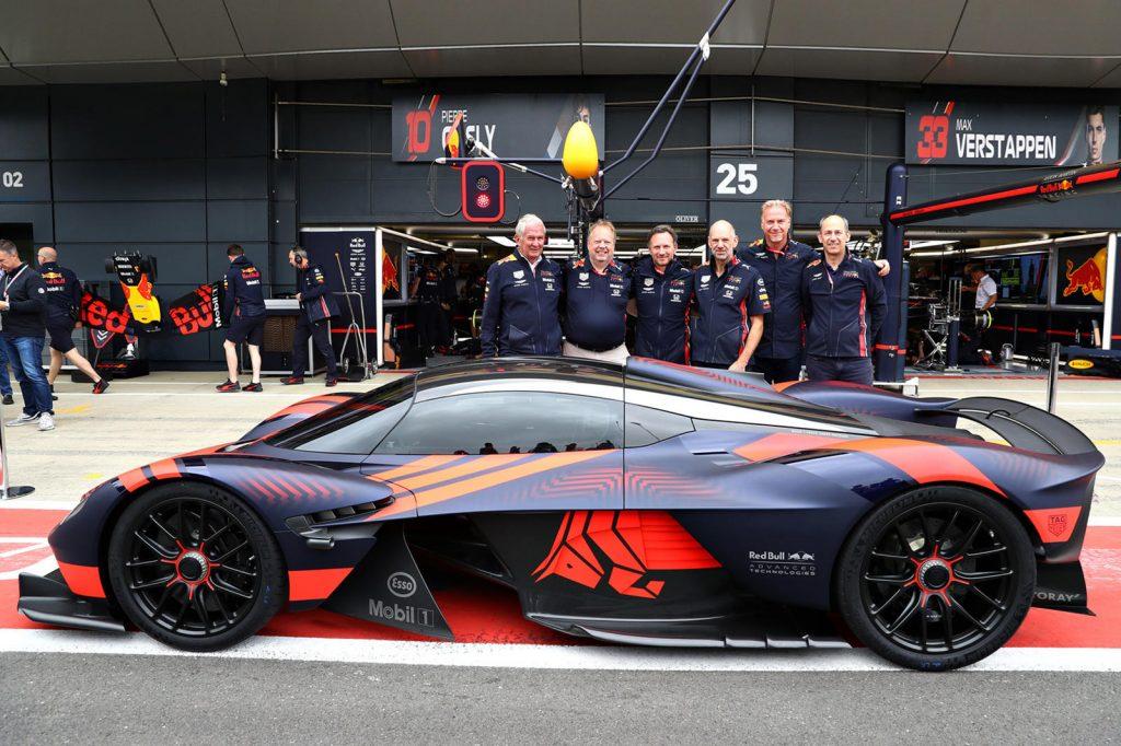 Aston Martin Valkyrie Silverstone Debut X