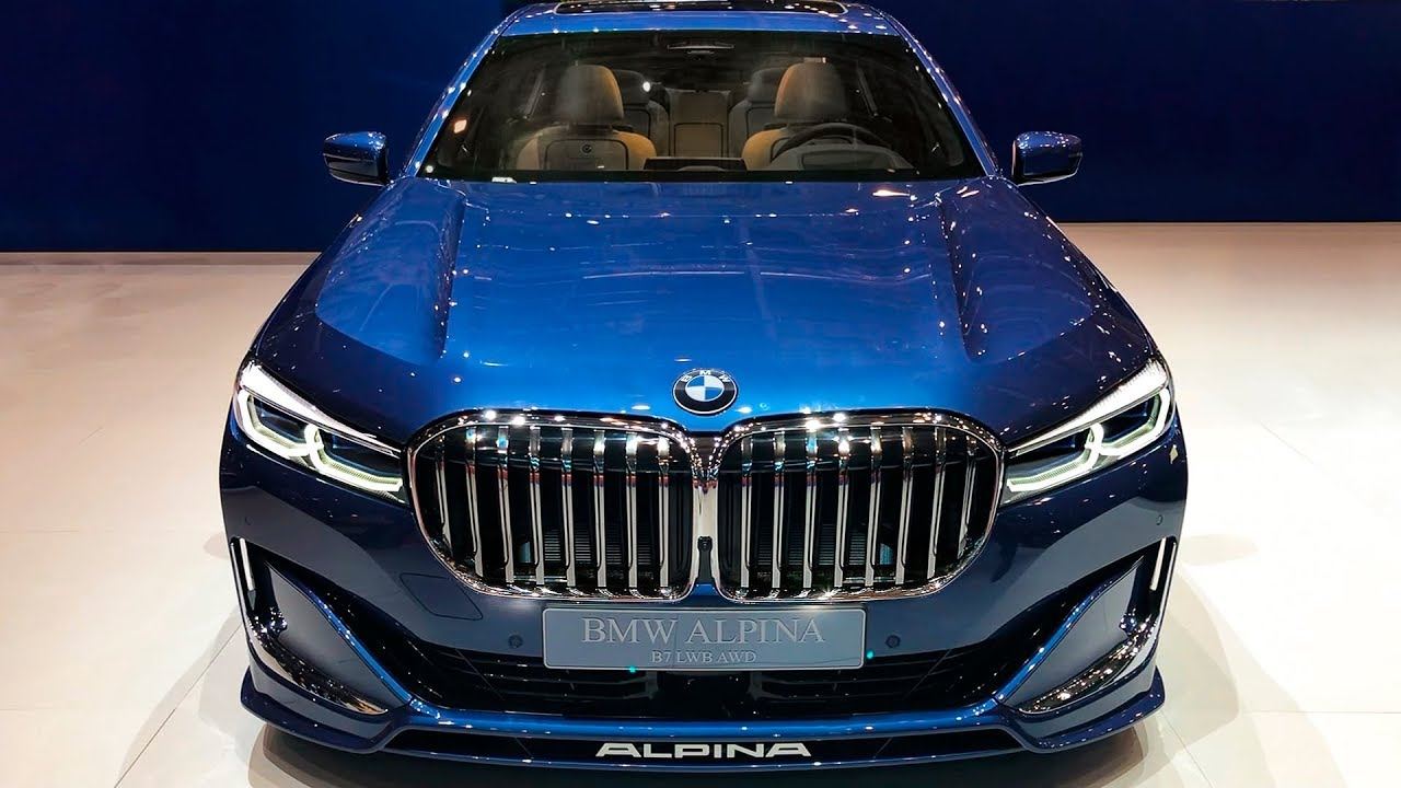 2020 bmw alpina b7 is the fastest 7 series you can buy