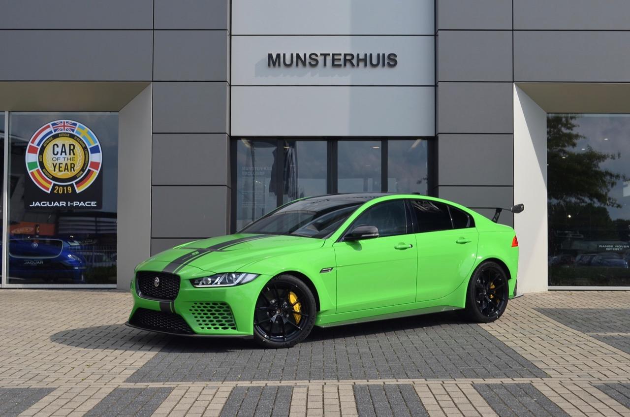 Jaguar Xe Sv Project 8 Gets Custom Verde Mantis Paint Job