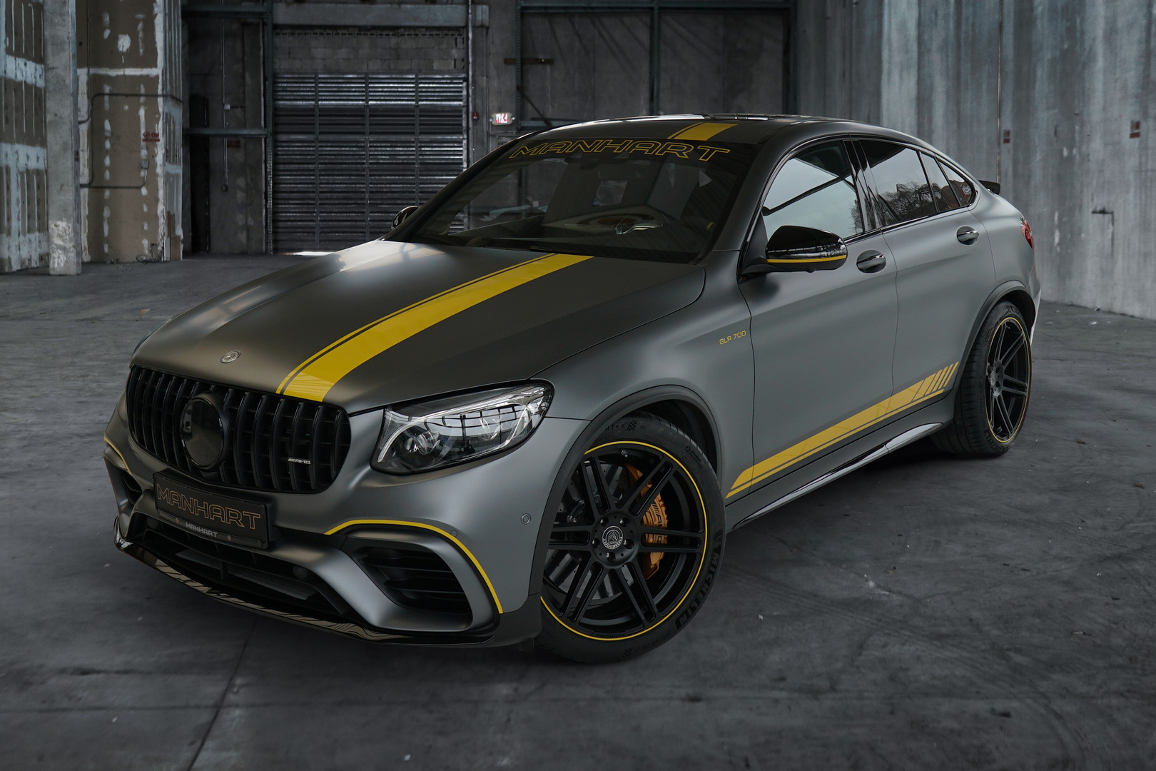 Mercedes-AMG GLC 63 S Coupe by Manhart Packs 700 HP (522 kW)
