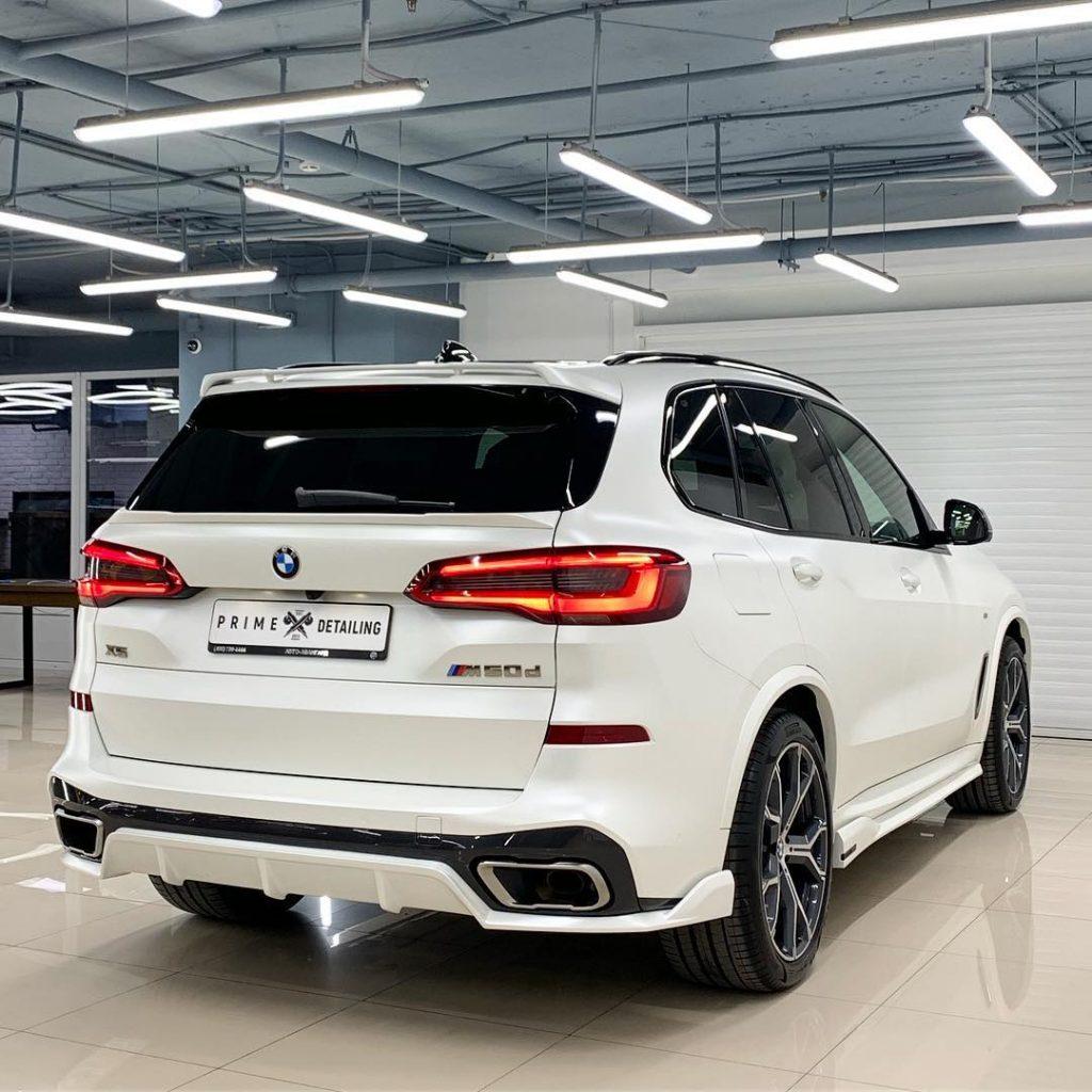 Custom Bmw X5: Russian Tuner Paradigm Releases Custom Body Kit For G05 BMW X5