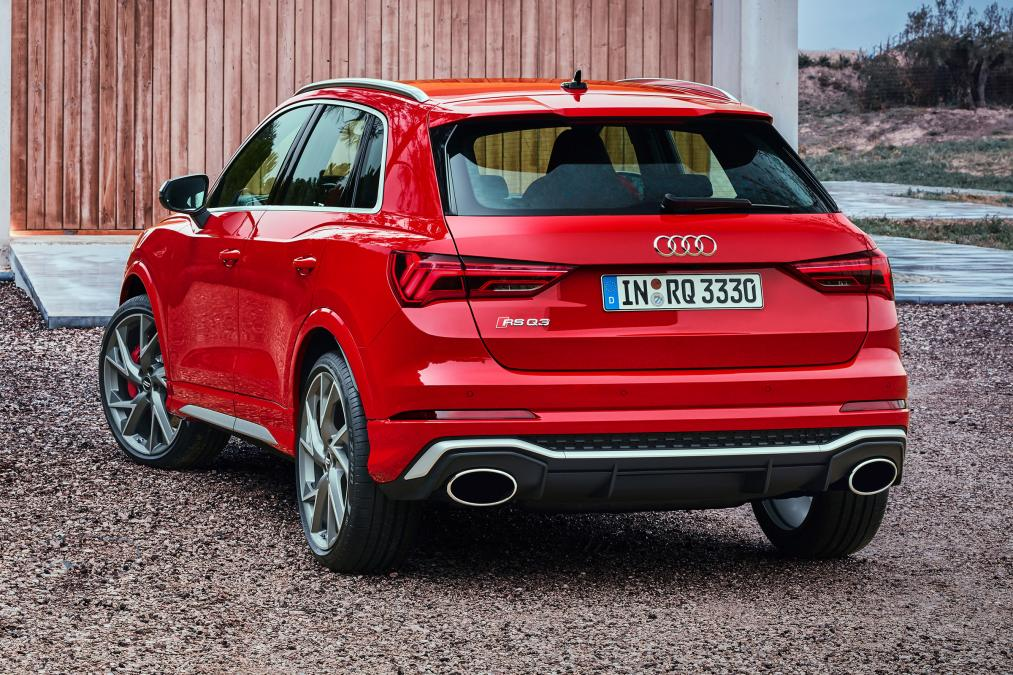 Audi Rs Q3 And Audi Rs Q3 Sportback Arrive With 400 Hp 294 Kw