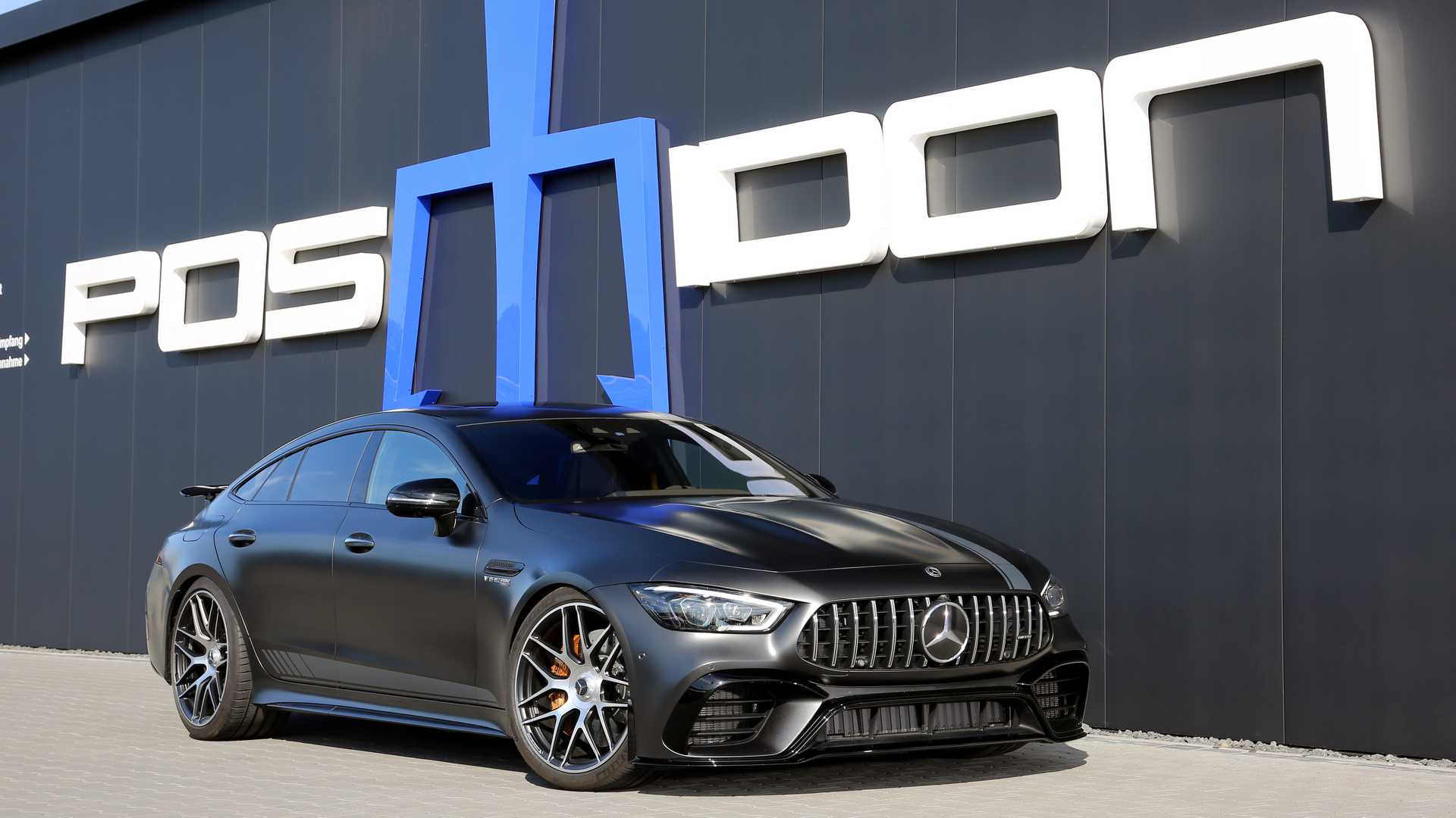 posaidon mercedes amg gt 63 s 4 door coup pushes 880 hp. Black Bedroom Furniture Sets. Home Design Ideas