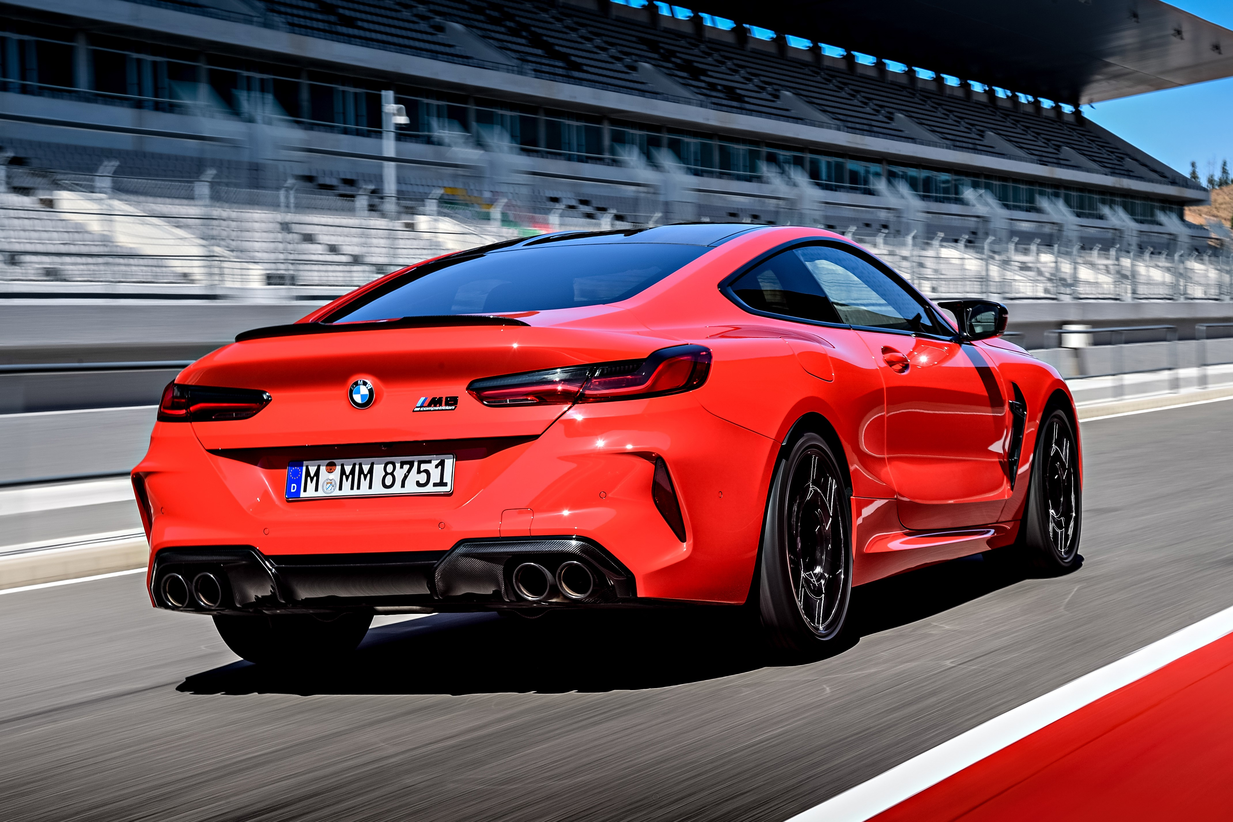 BMW M8 Competition Sprints To 100 km/h In 2.88 Seconds