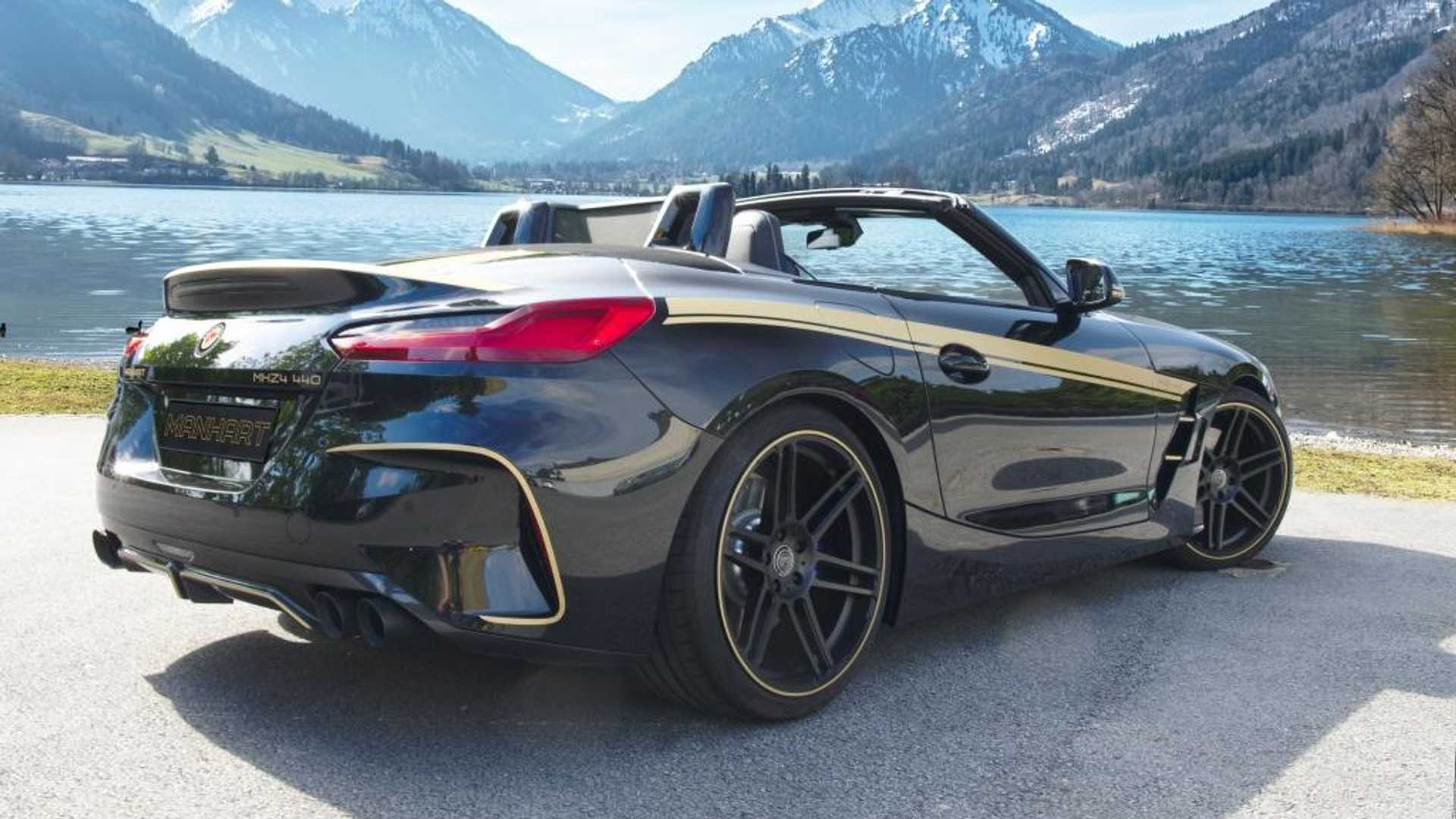 Bmw Z4 M40i By Manhart Sounds Raucous And We Love It