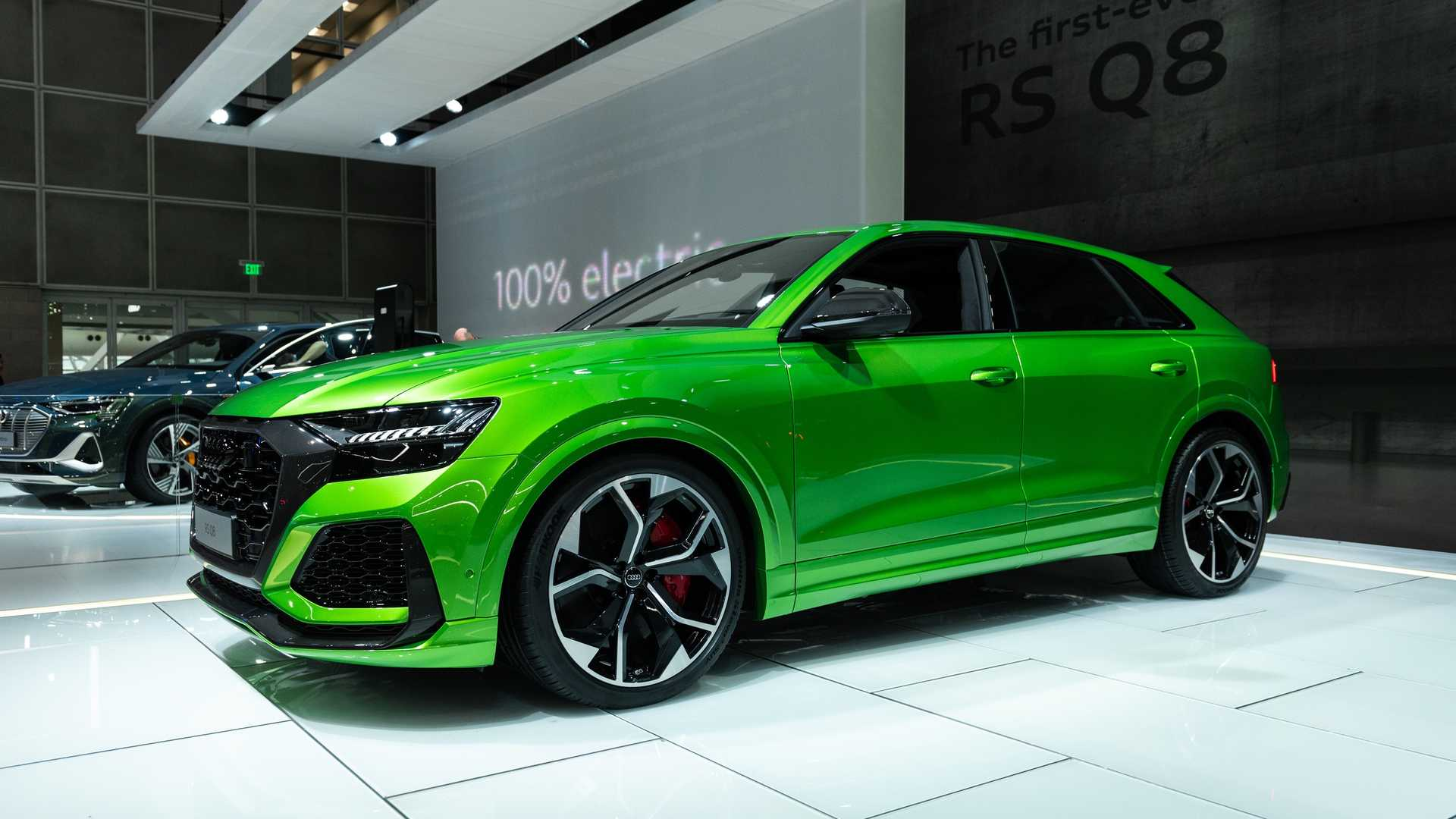 Audi Rs Q8 Revealed Packing 592 Hp 441 Kw
