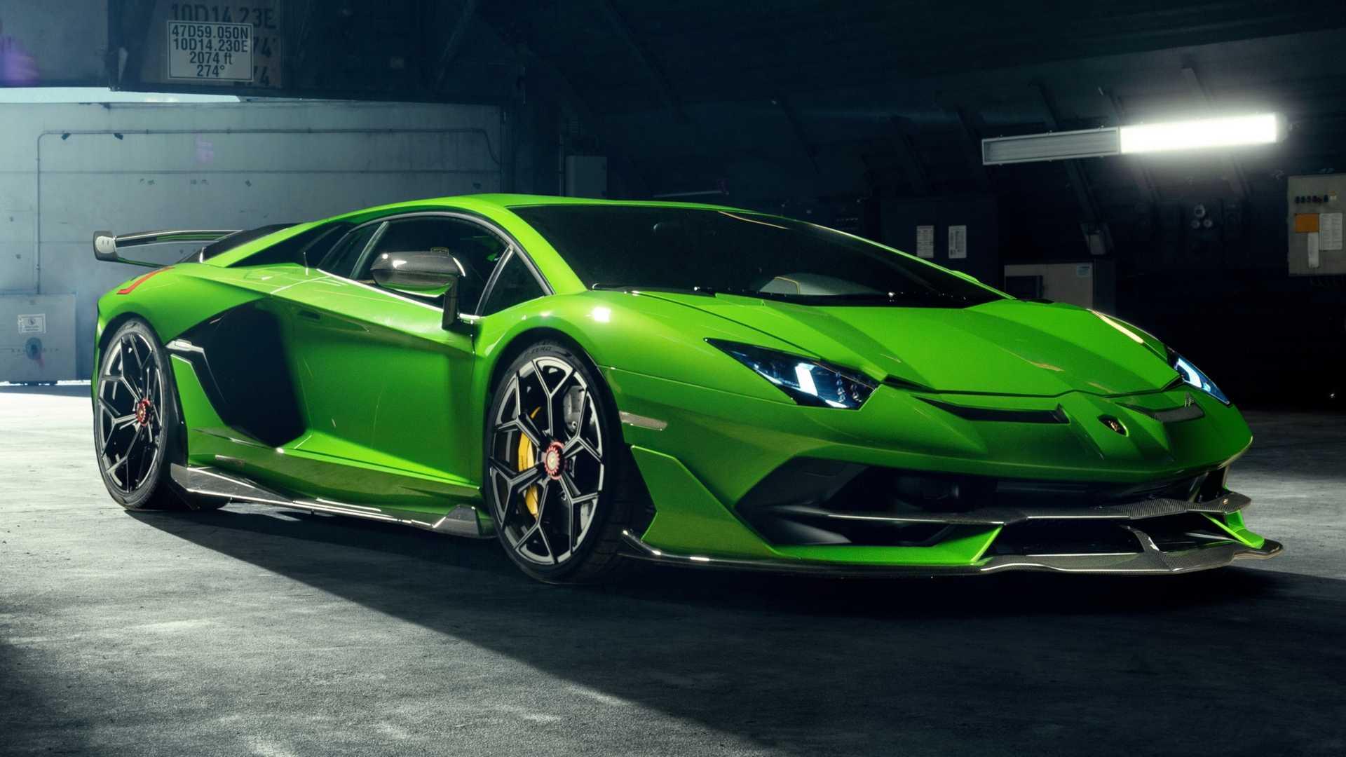 Lamborghini Aventador SVJ Gets Novitec Treatment
